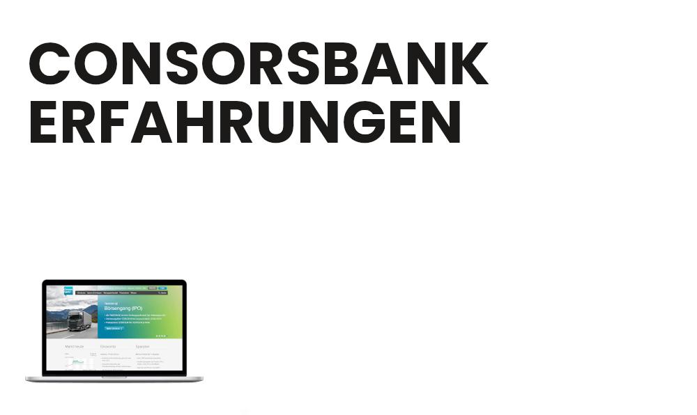 Erfahrung Consorsbank